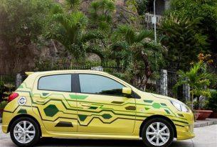 Vinastar ưu đãi cho khách hàng mua xe Mitsubishi Mirage vàng, xanh
